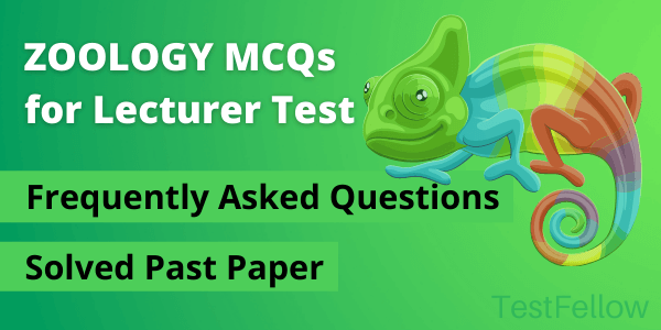 zoology mcqs for lecturer test